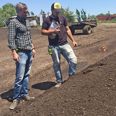 analizando compost BioTerra
