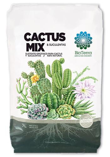 Cactus y Suculentas Mix-BioTerra