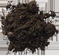 Compost sin tamizar