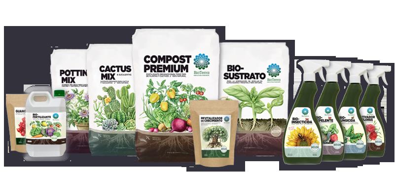 línea de productos -BioTerra